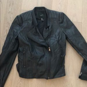 Leather forever 21 jacket